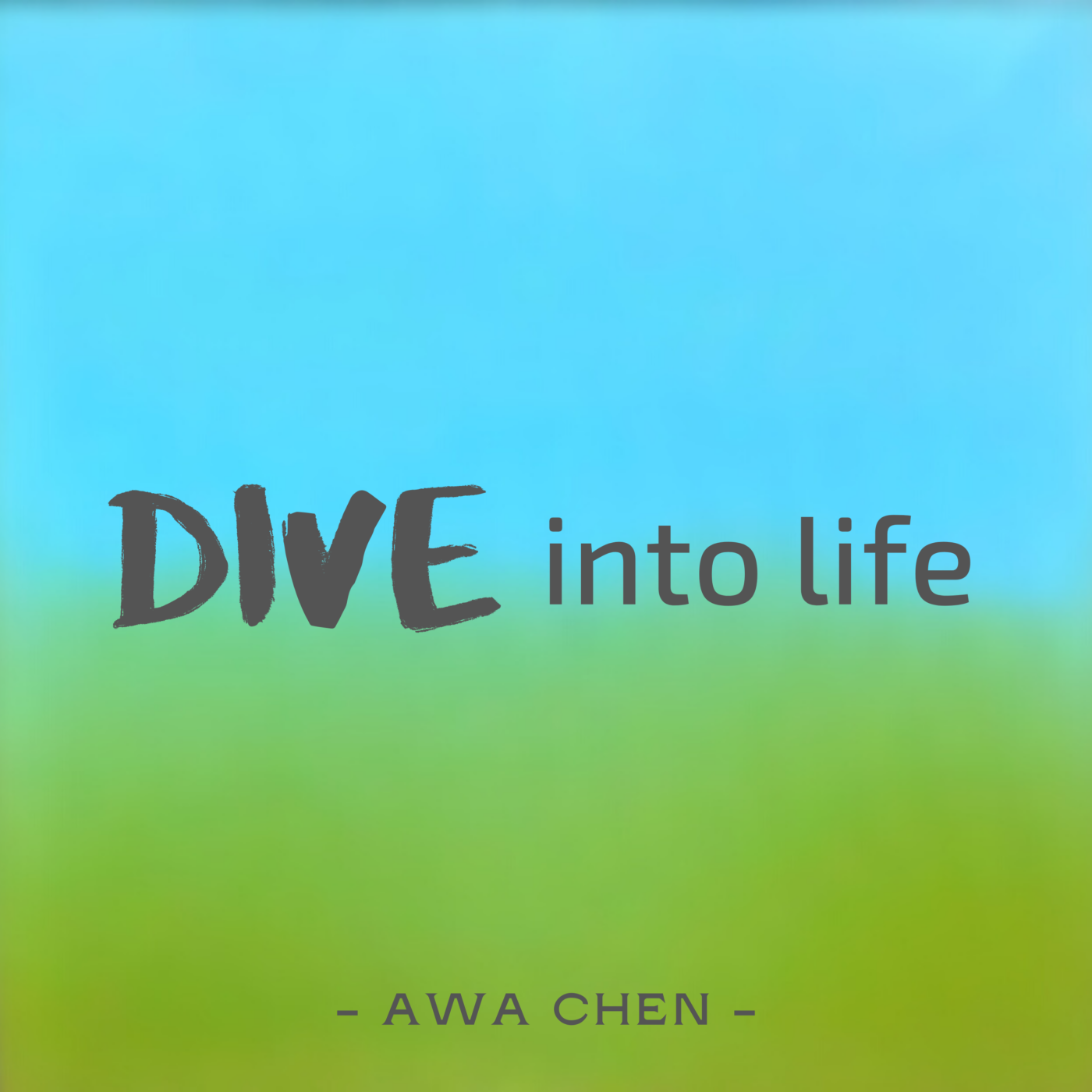 DIVE 9 潛水不能講話,那就把心情都轉化成文字傳遞出來吧 — 《潛水時不要講話》作者栗光