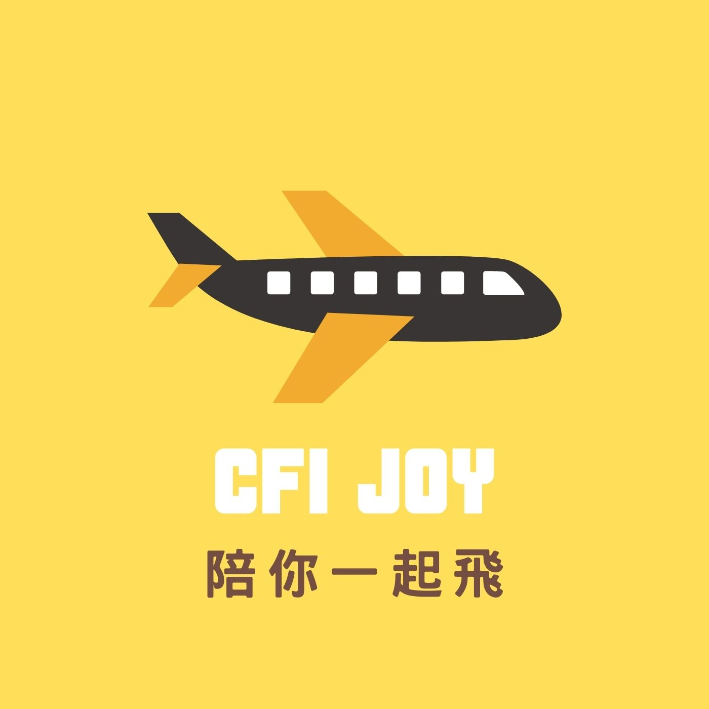CFI JOY 陪你一起飛