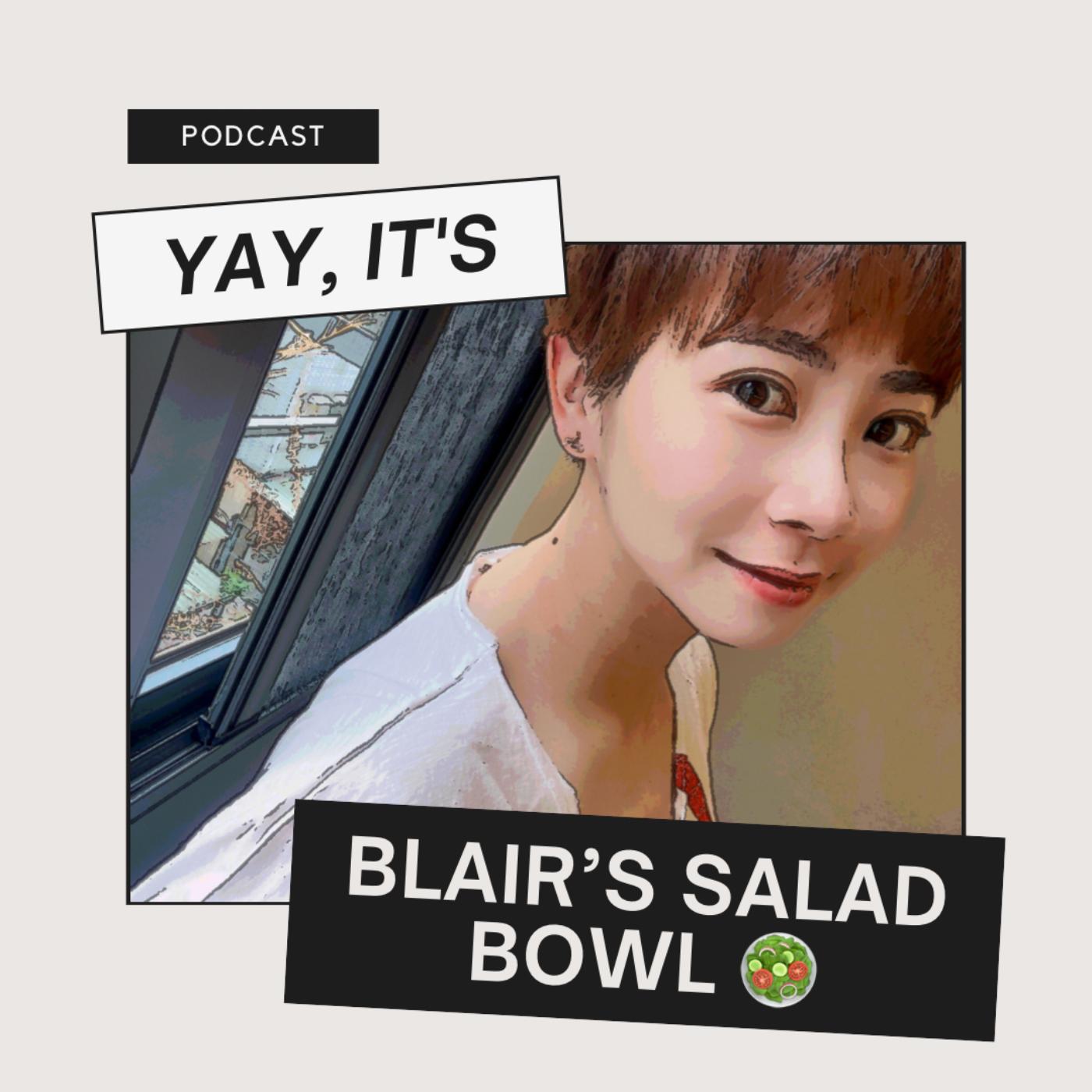 布萊兒沙拉盤第三季:Talk to Blair in English! EP6:現在新聞最夯的「校正回歸」英文怎麼說呢?