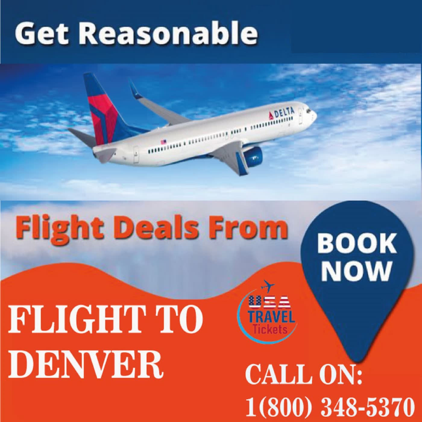 Flights to Denver (800) 348-5370 Delta Airlines