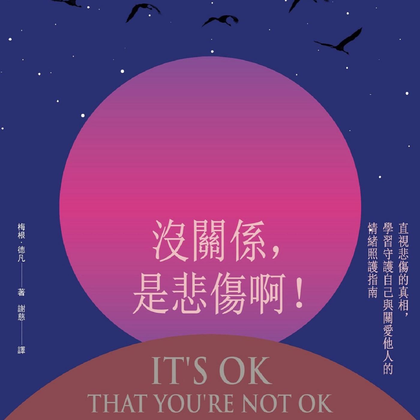 [說書好不好] 預告:《沒關係,是悲傷啊!》It's OK that You're Not OK. (Readmoo讀墨贊助電子書)
