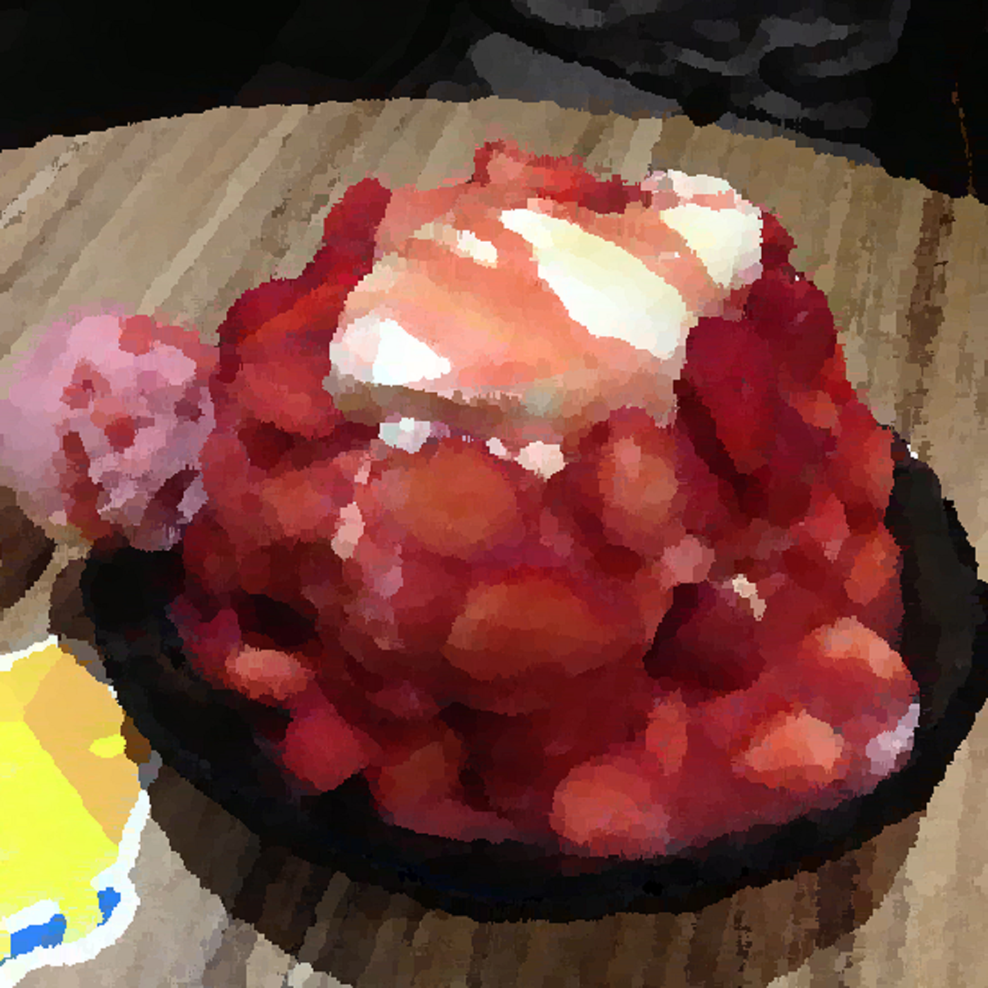[小鬱好不好] 你眼中的小鬱-1:草莓就該配挫冰好嗎!粉身碎骨後重生的草莓,莓生閃閃發光! feat. 神祕大來賓