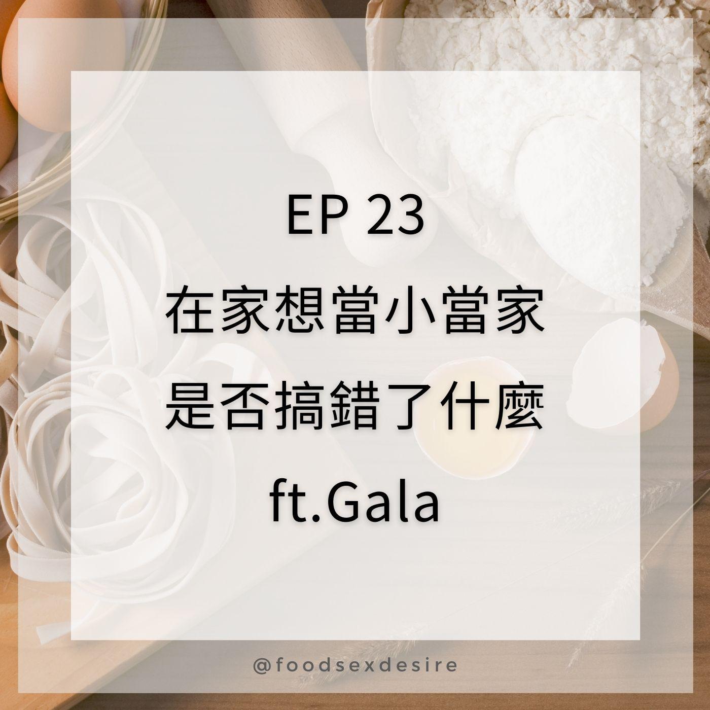 EP23 在家想當小當家是否搞錯了什麼 ft. 御宅文青相談所  嘎拉嬉皮Gala