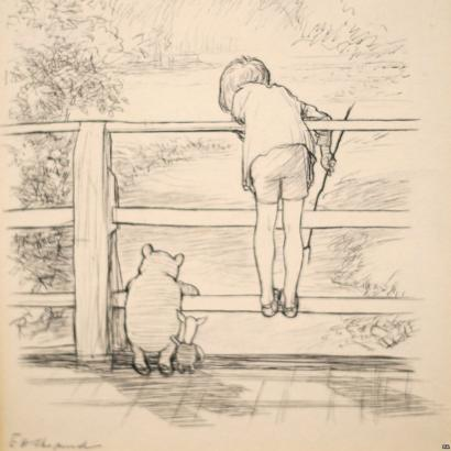 DU MI 洋洋 說故事:維尼的百畝森林 三
