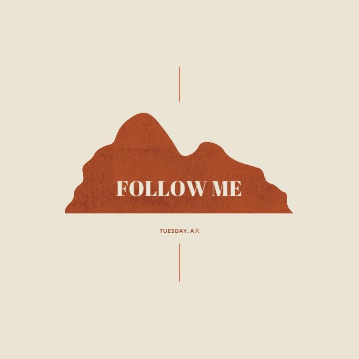 【Follow Me】 # 01 | 關於一個人的自助旅行