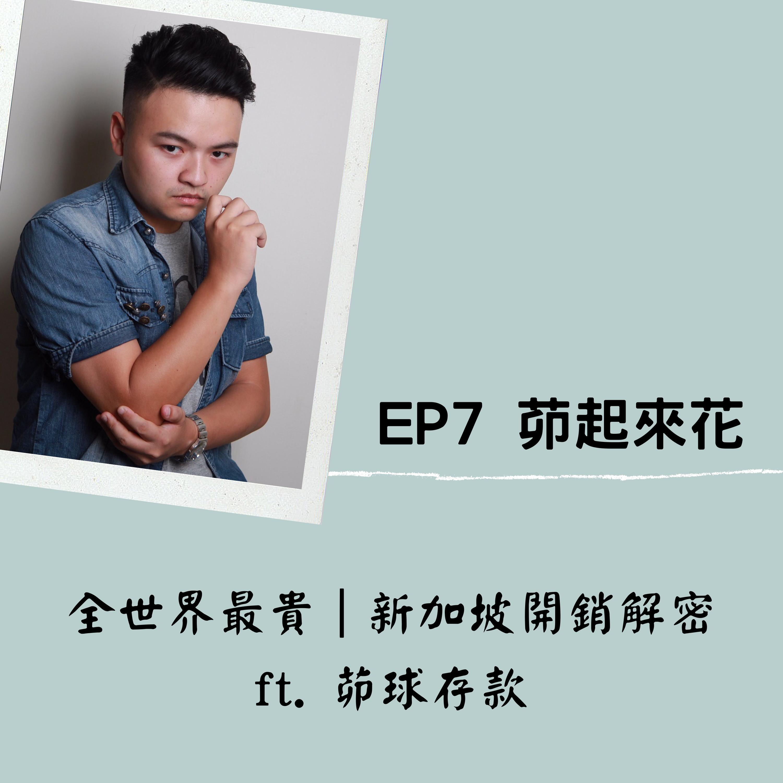 EP 7 茆起來花|全世界最貴,新加坡開銷解密  ft.茆球存款