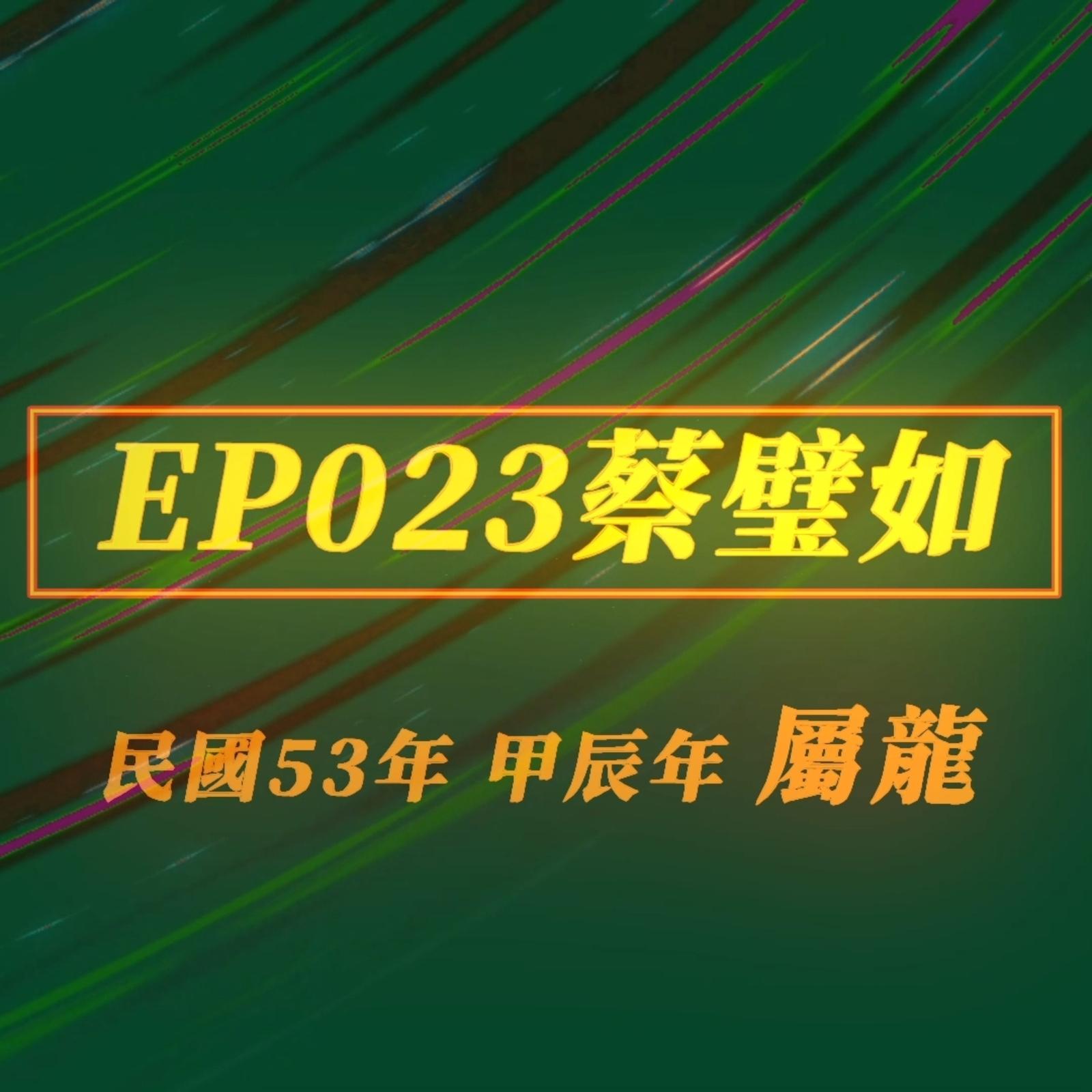 【EP023】林鄭月娥‧香港特首v.s. 蔡壁如‧民眾黨二把手|兩人長超像,姓名學上居然也很相似!?