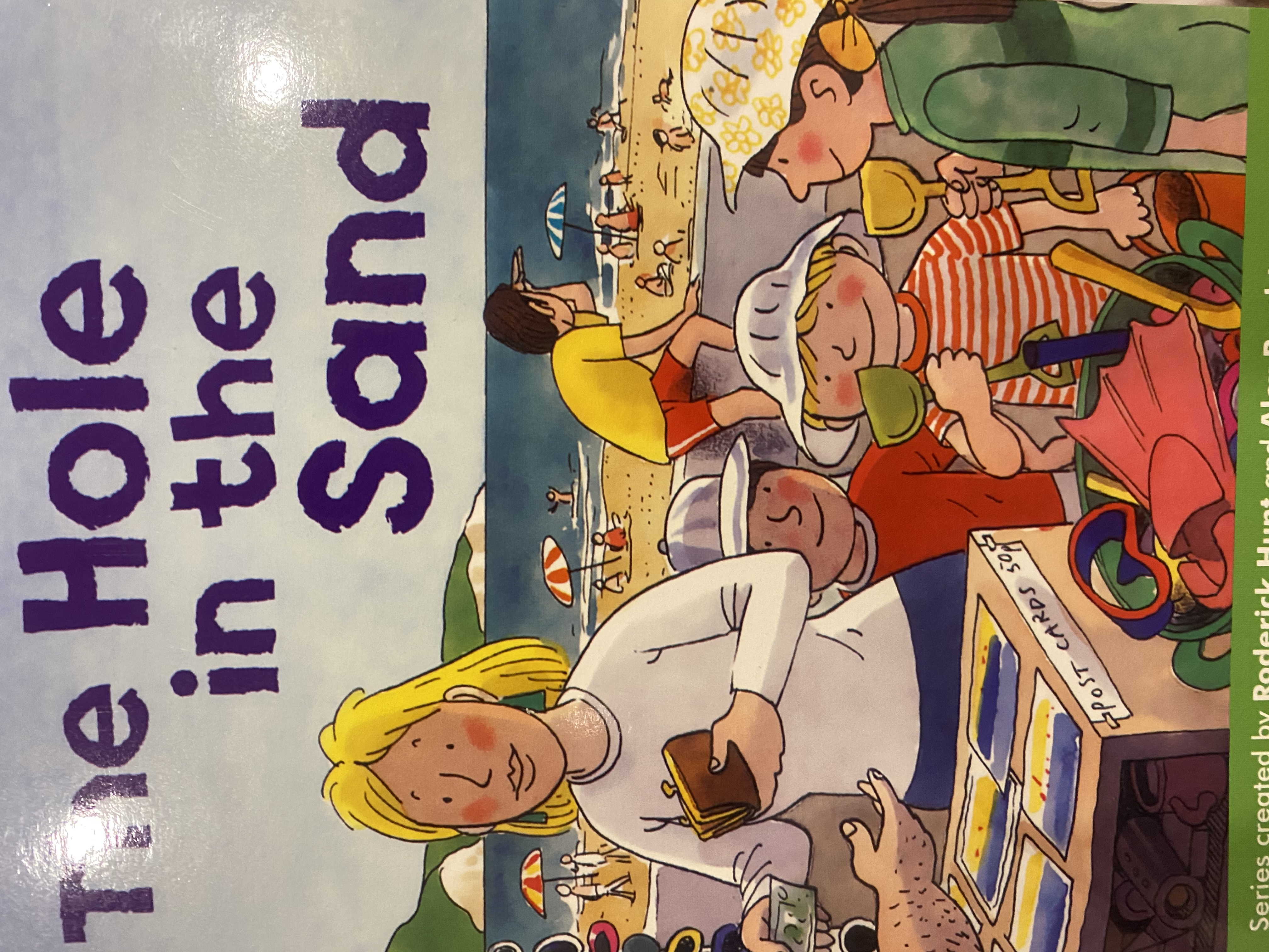 The hole in the sand/ Oxford reading tree