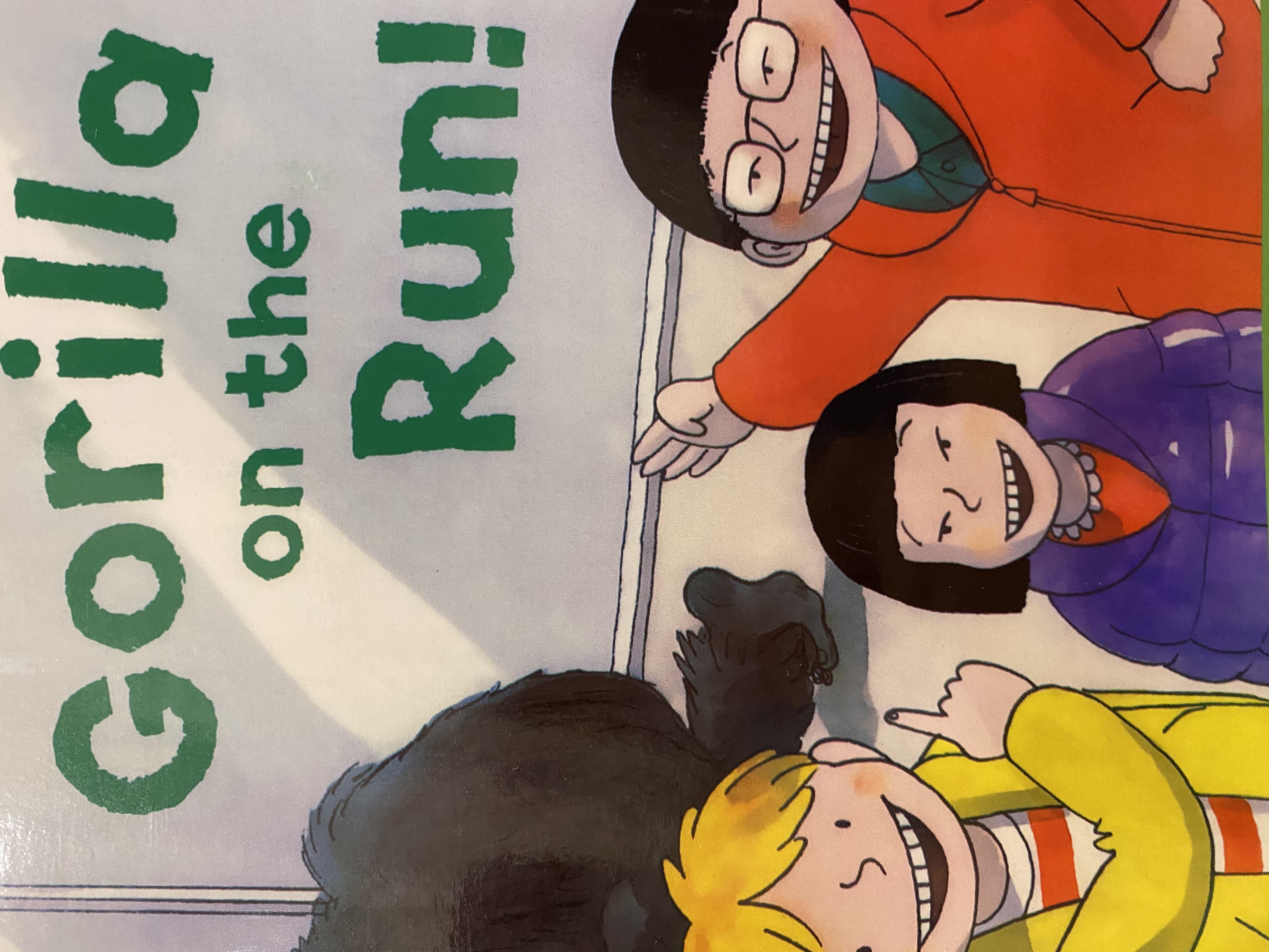 S2-018/ Gorilla on the run!/ Oxford reading tree