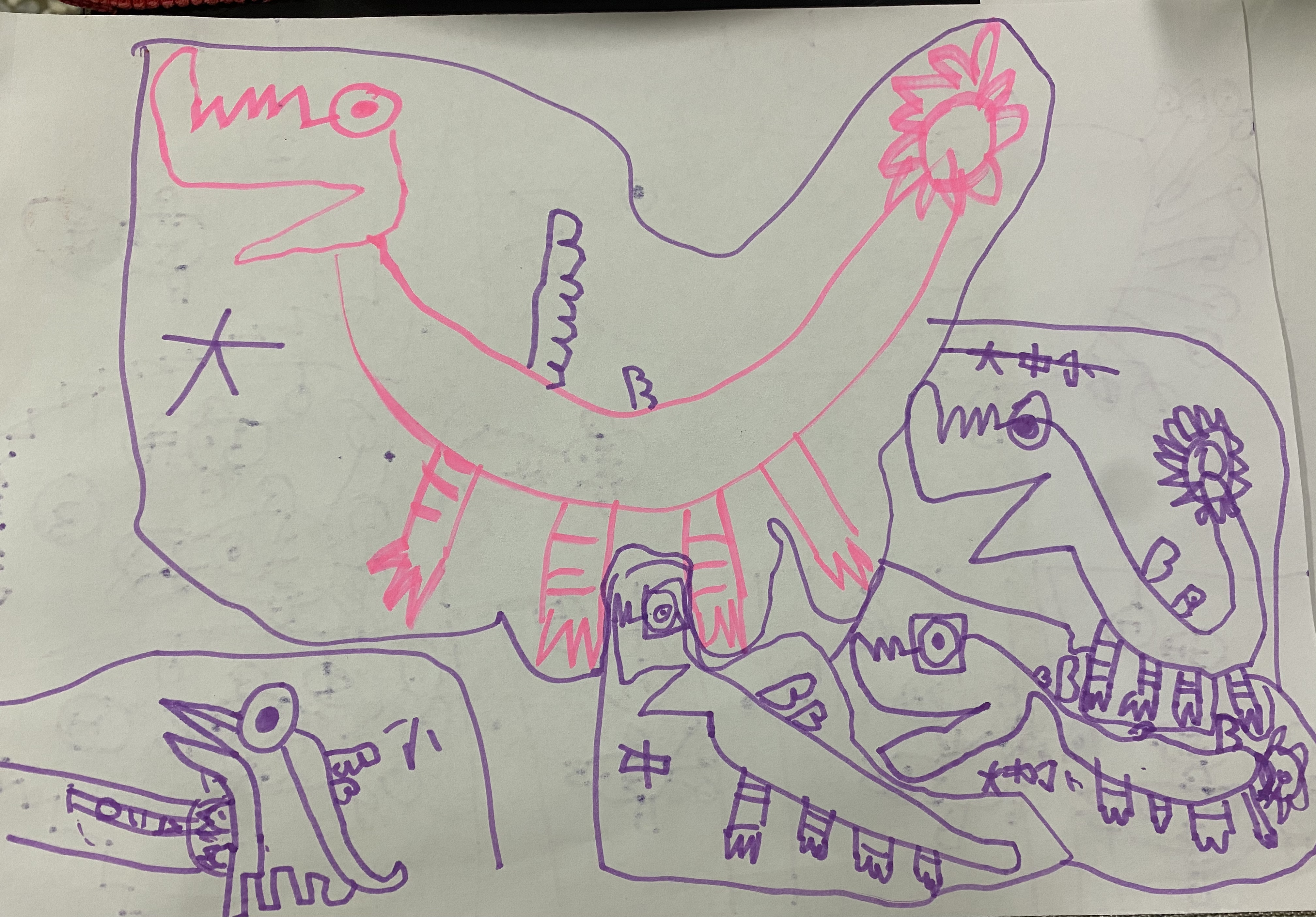 S2-301/  [非故事]小鼻龍和企鵝弟弟妹妹的說故事XDDD-1