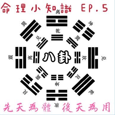 [命理小知識]EP.5 八卦-乾兑離震巽坎艮坤