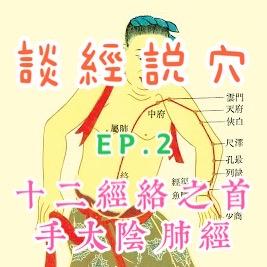 [談經説穴]EP.2 十二經絡之首-手太陰肺經(上)