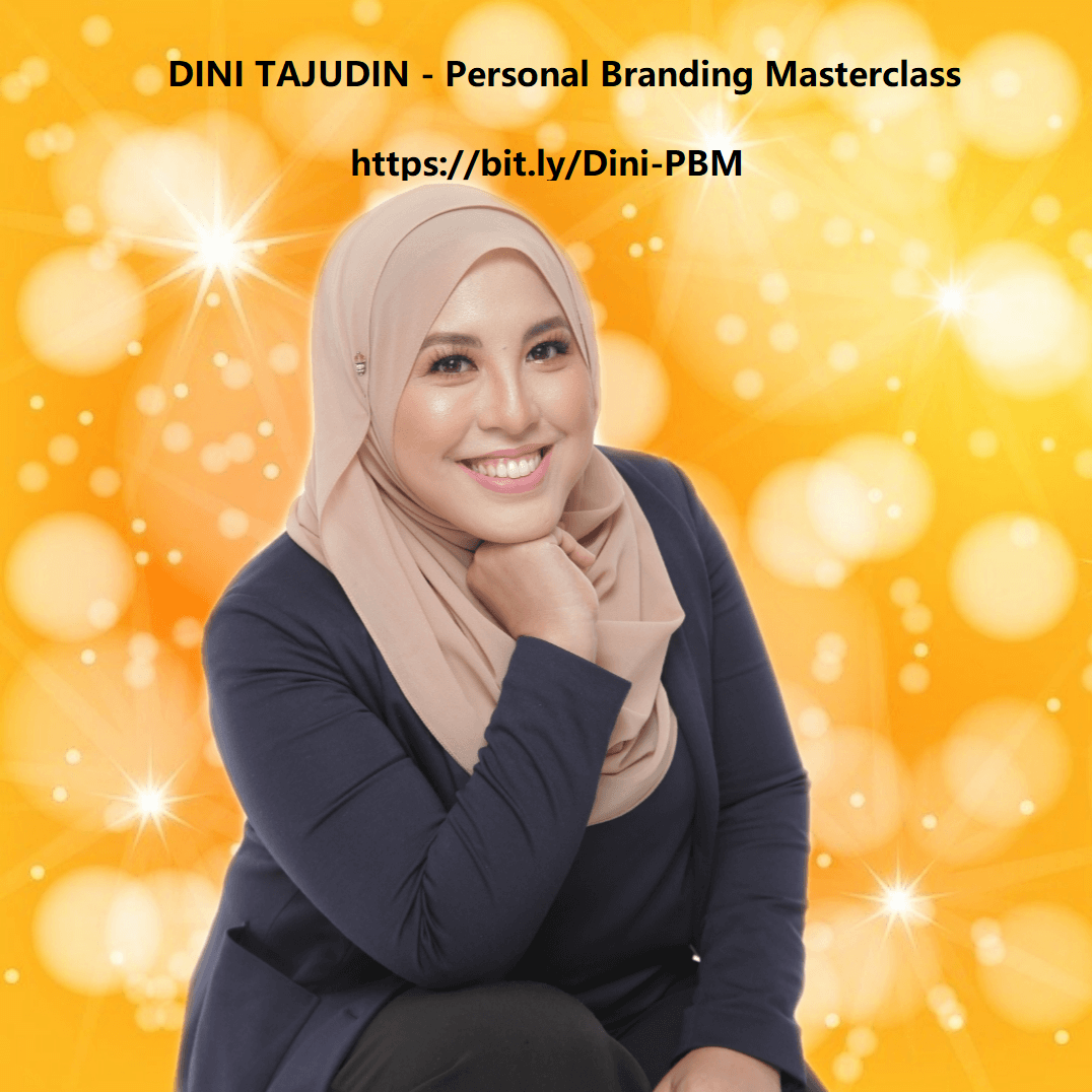 Interview #1 with Dini Tajudin  - Personal Branding Masterclass