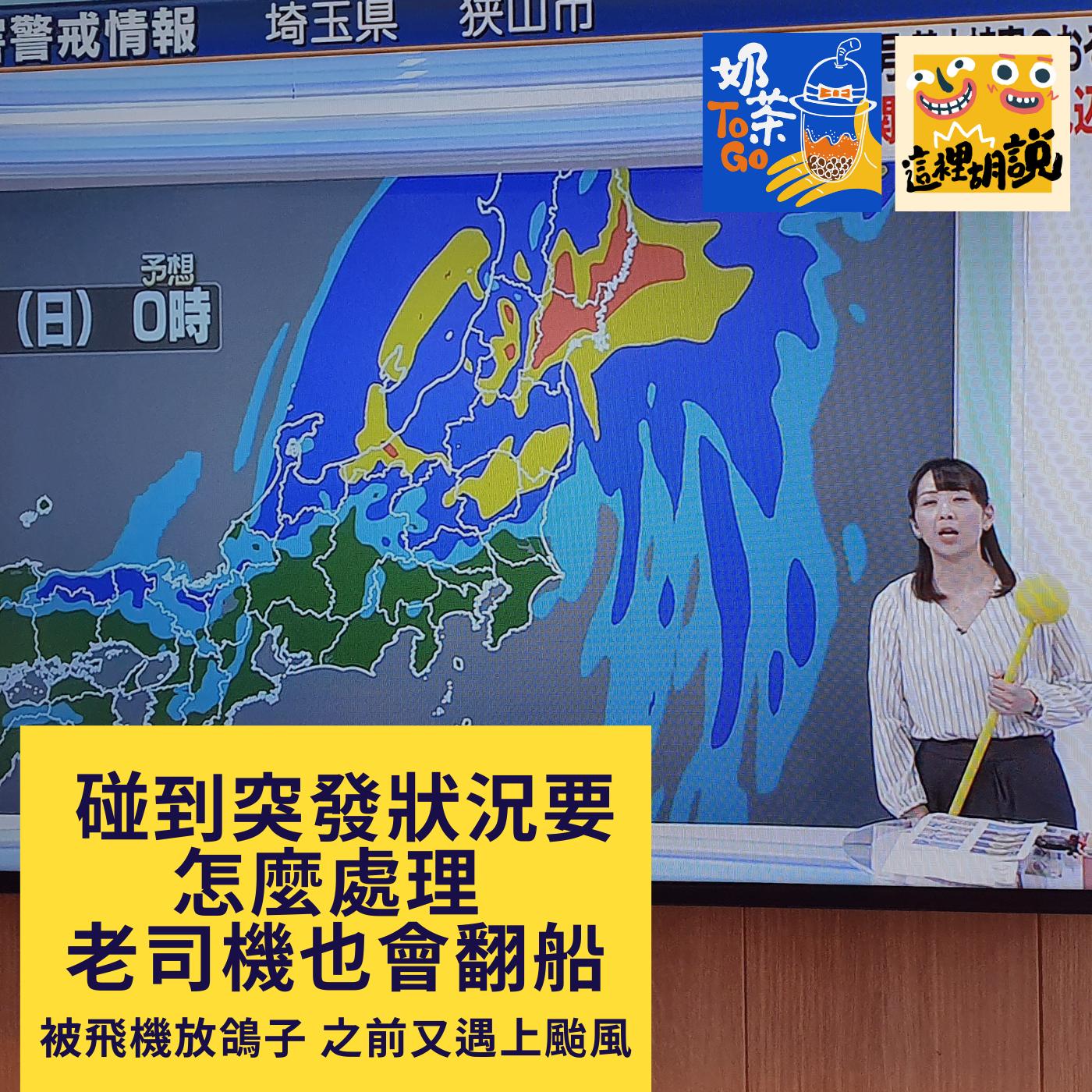 010. 突發狀況要怎麼處理 老司機也會翻船 沒趕上飛機 又遇上颱風