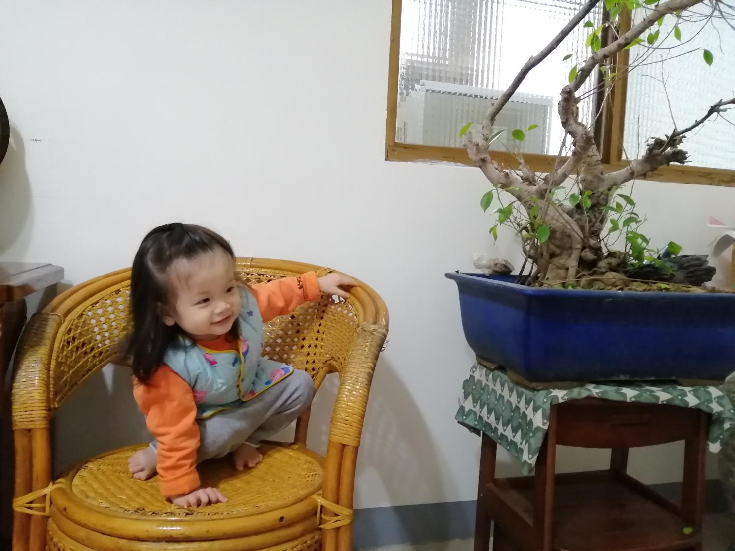 旅喵寶貝 Oh yeah!1歲4個月囉