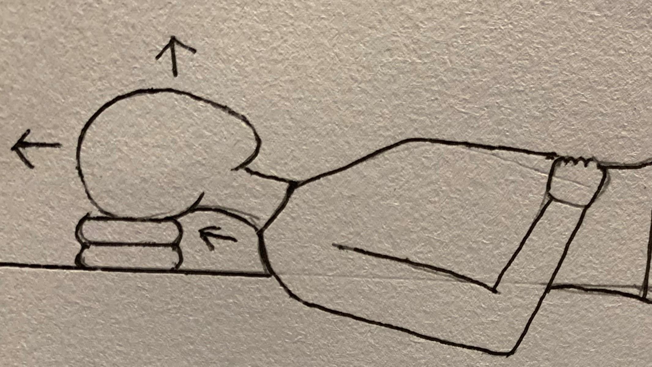 半仰臥放鬆法練習引導