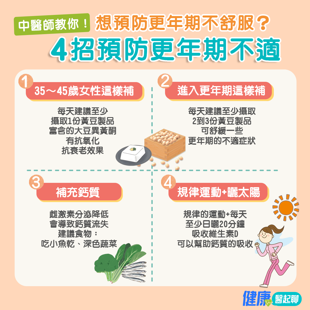 16|擔心更年期肥胖、老得快?女中醫用這招護腎、抗衰老…舒緩更年期不適!