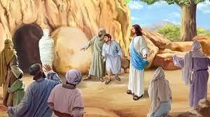 5月23日約翰福音十一章38~44節