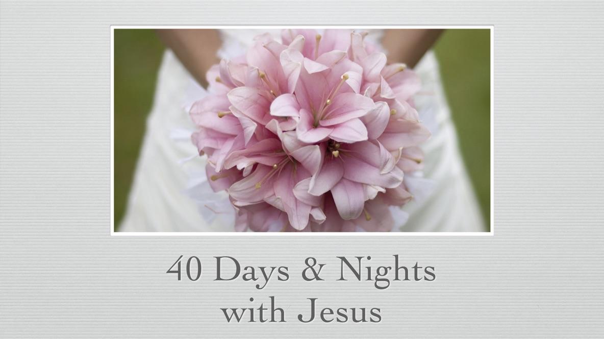 #Day3  耶穌陪你一起做40天的心靈鍛鍊
