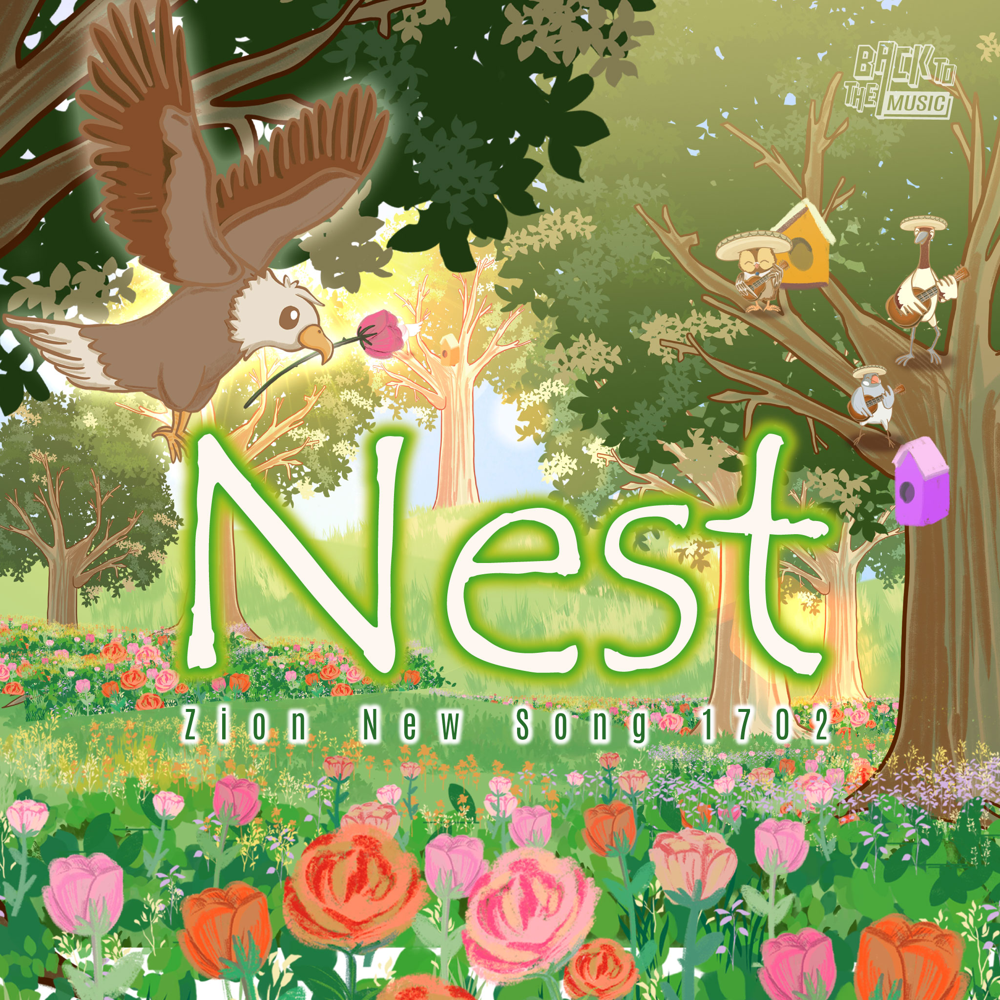 【Nest】| Music | Praise the Lord 2021 | Back To The Music