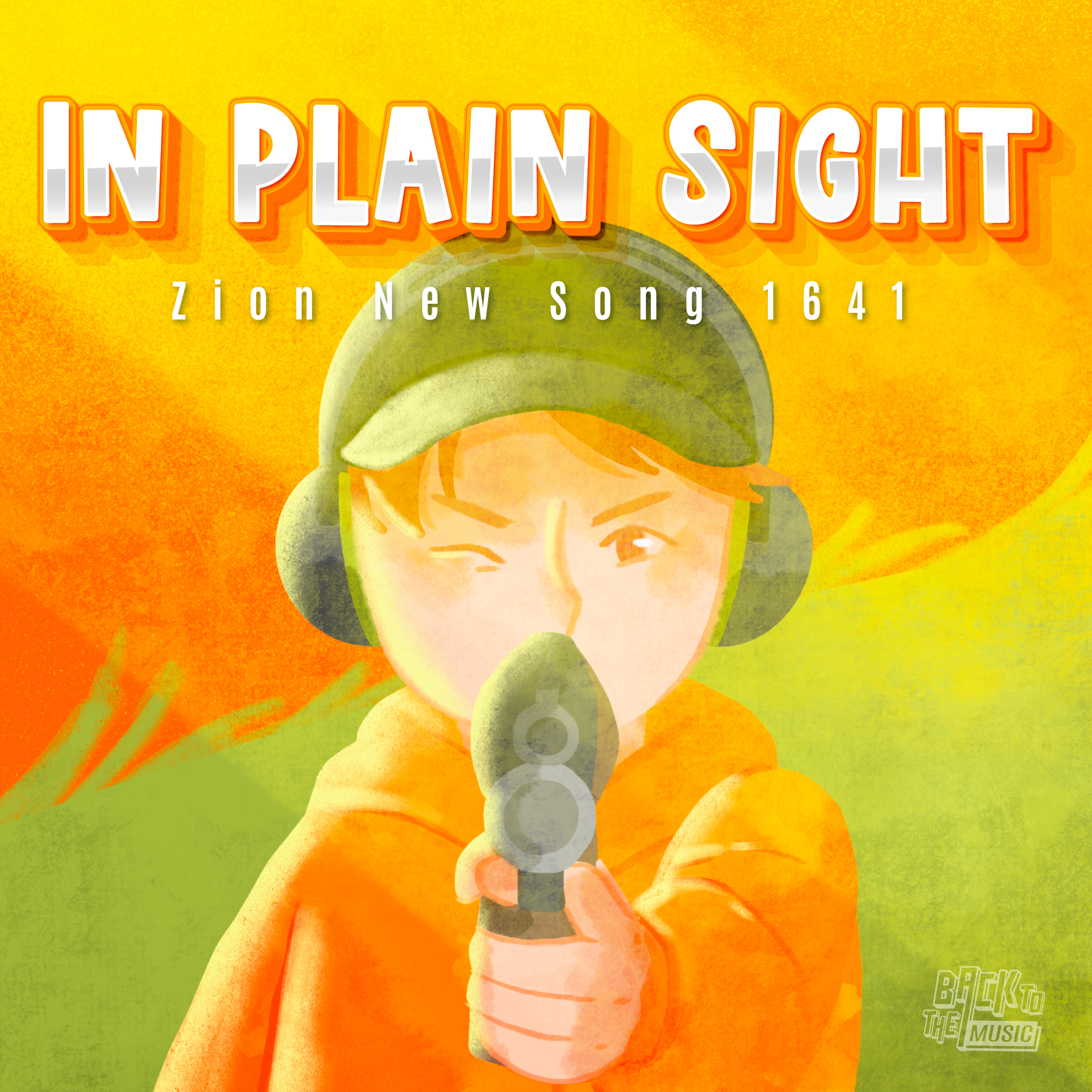 【In plain sight】   Music   Praise the Lord 2021   Back To The Music   432Hz