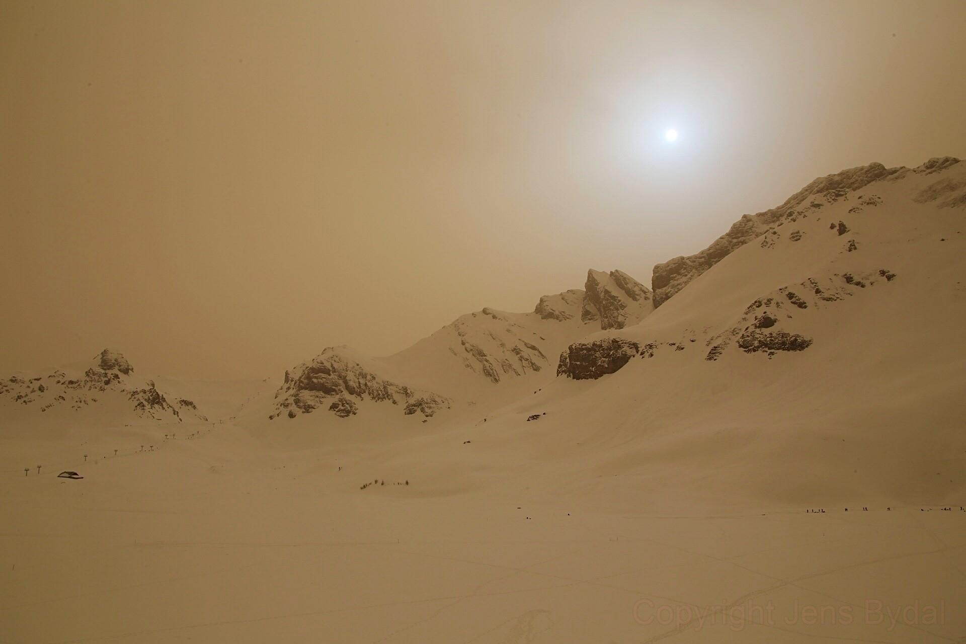瑞士 ê Alps 山,火星 ê 天空 ft. 阿錕 (20210218)