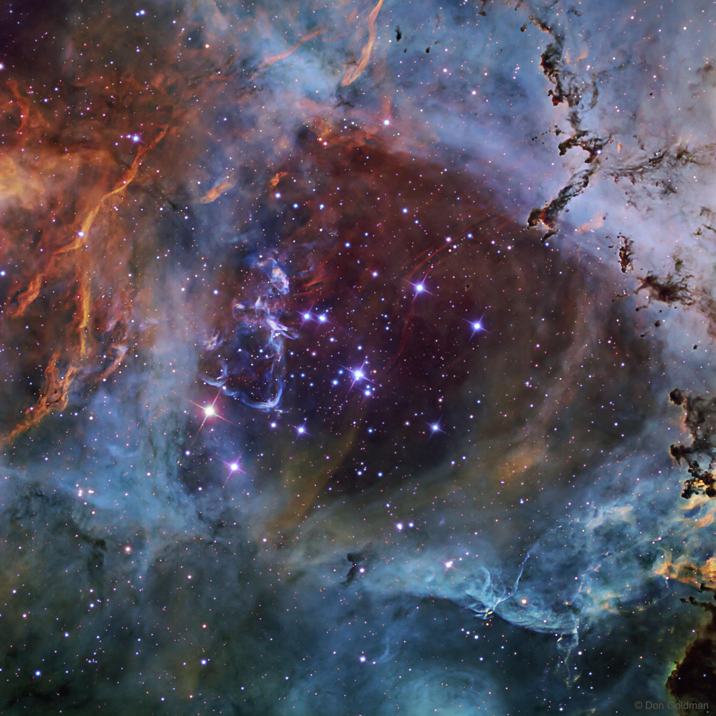 NGC 2244:玫瑰星雲 ê 星團 ft. 阿錕 (20210221)