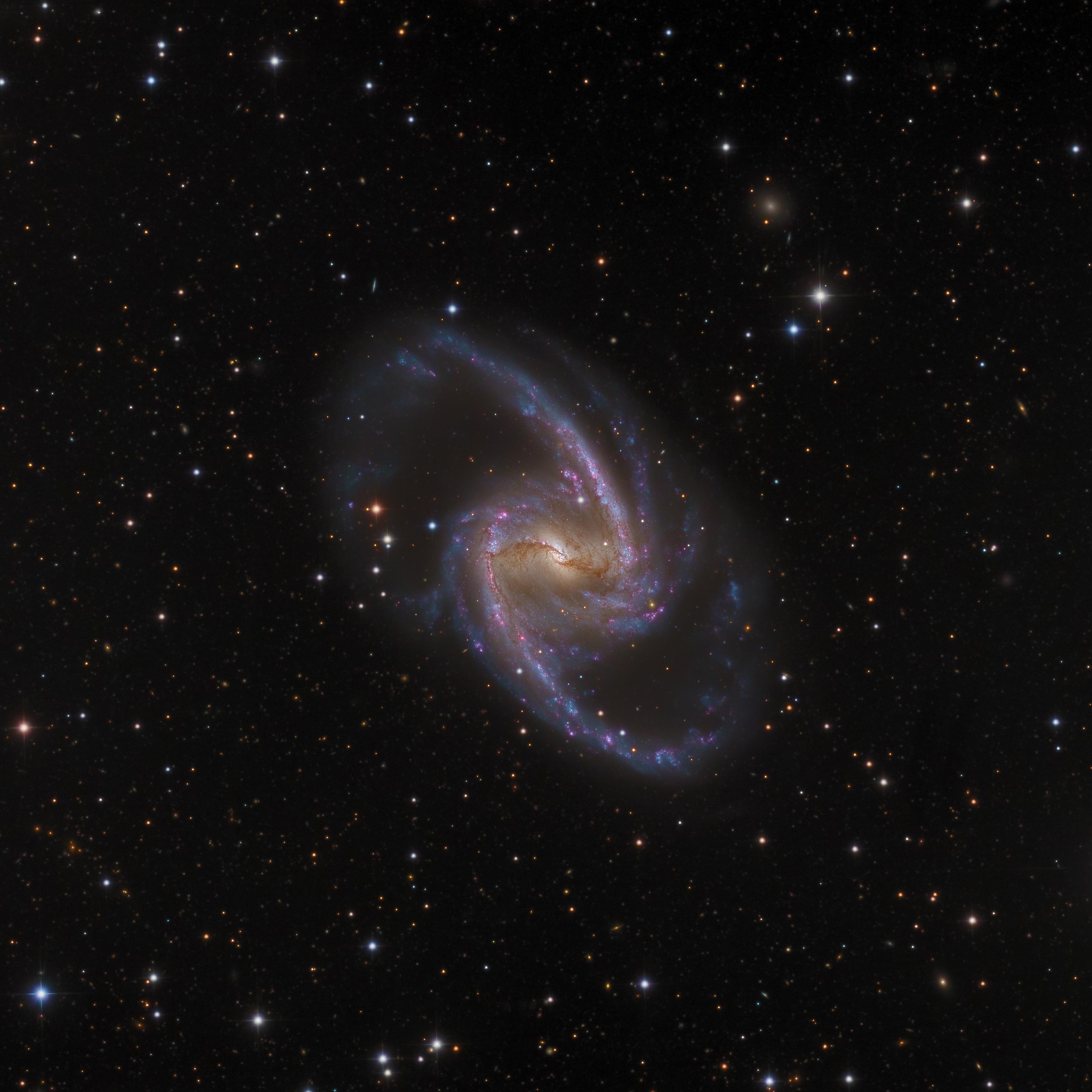 NGC 1365:壯麗 ê 宇宙島 ft. DD (20210108)