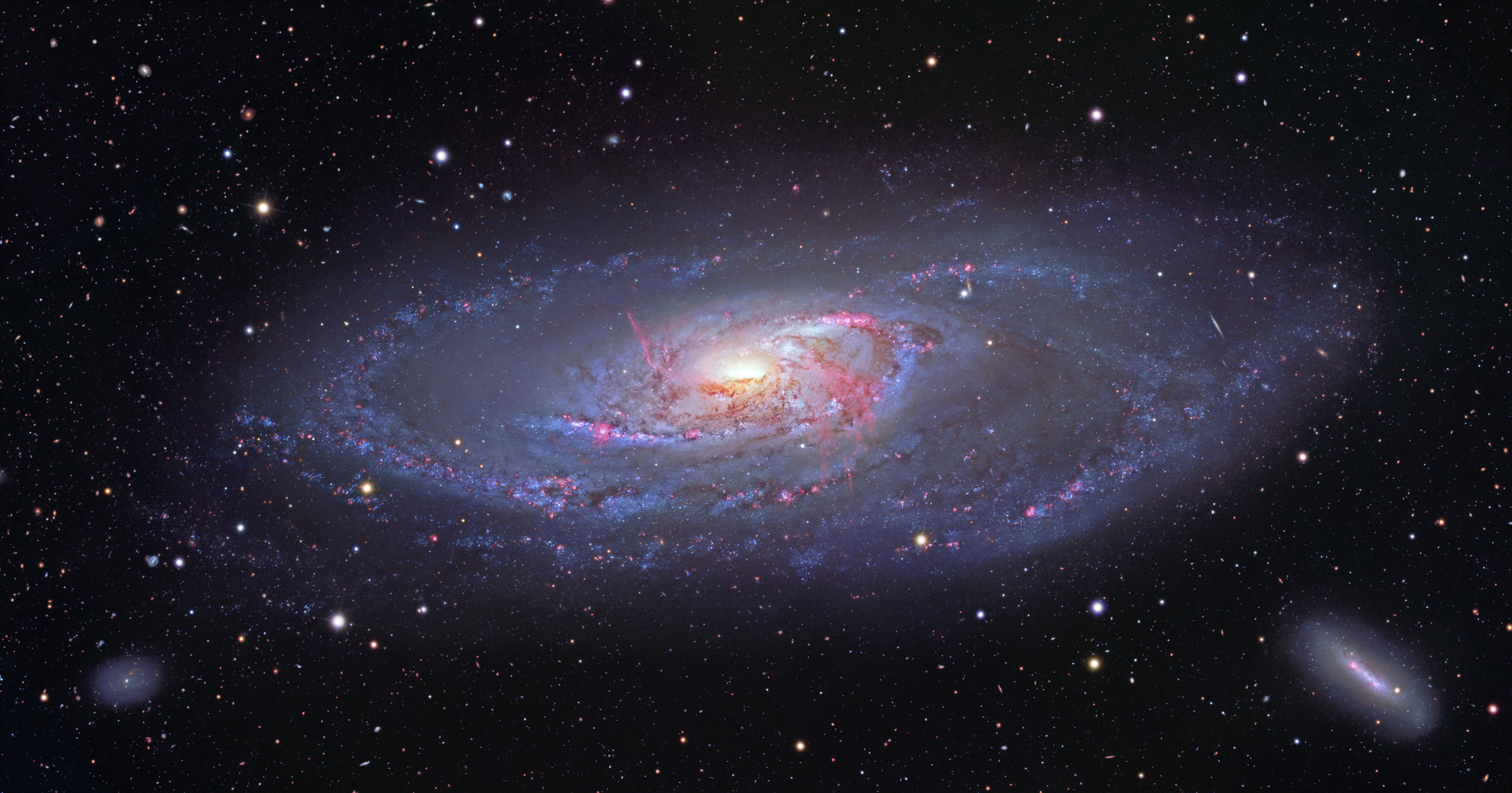 Messier 106 ft. 蔡老師 (20210409)