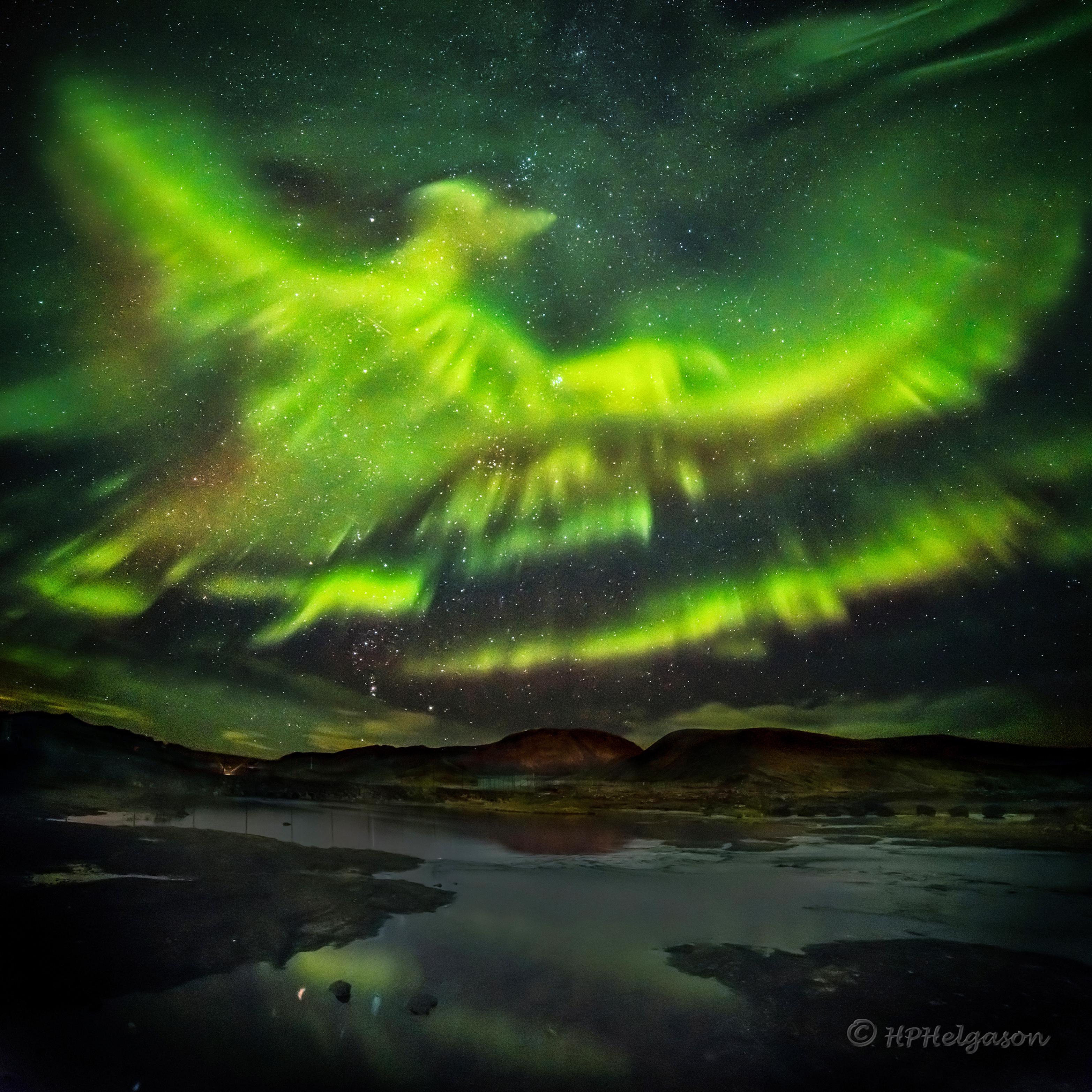 佇冰島頂懸 ê鳳凰極光 ft. 陳威盛 (20210103)
