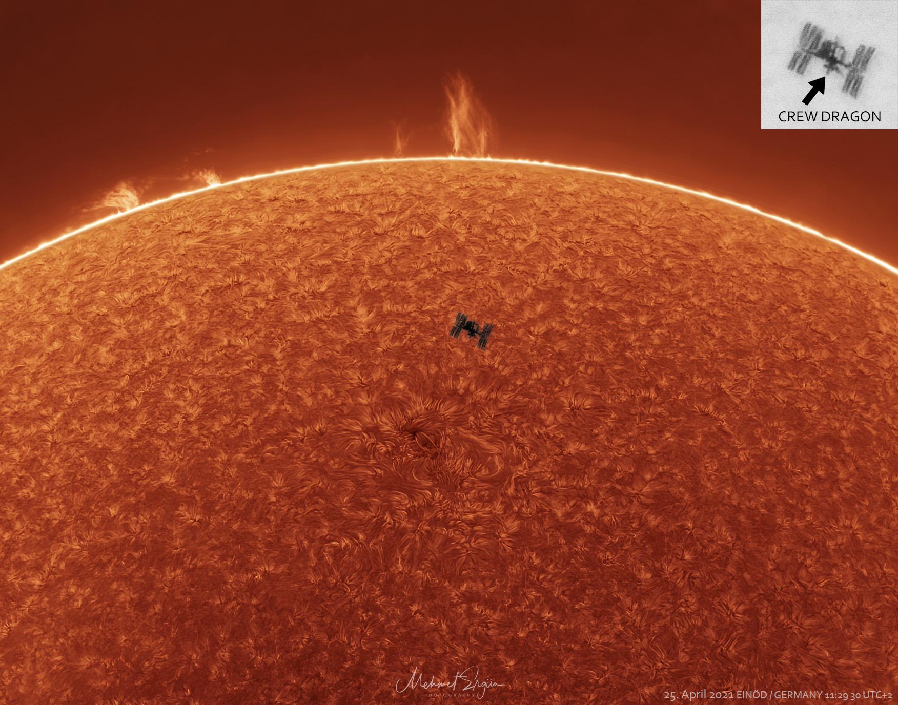 太空站、日珥、太陽 ft. 彪彪 (20210504)