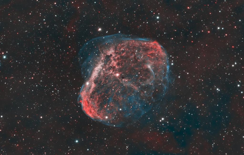 NGC 6888:月眉星雲 ft. 阿錕 (20210617)