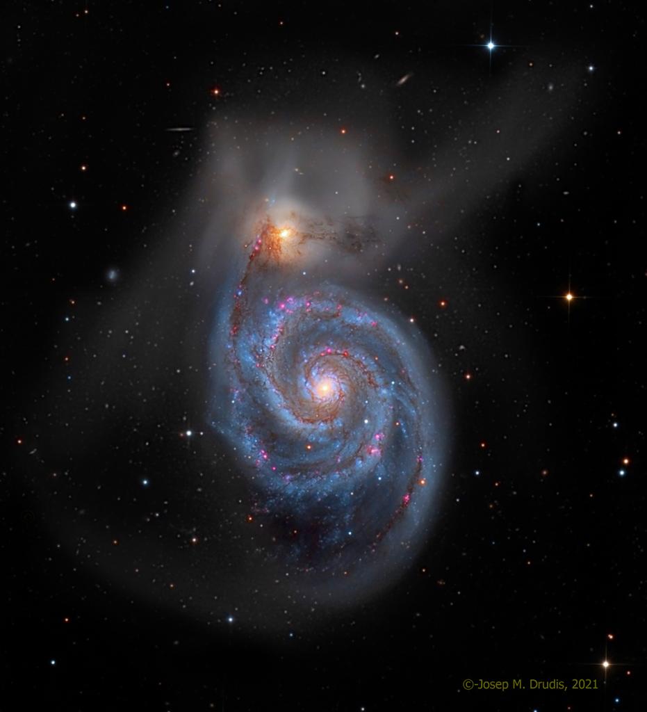 229. M51:渦輪星系 ft. 蔡老師 (20210902)