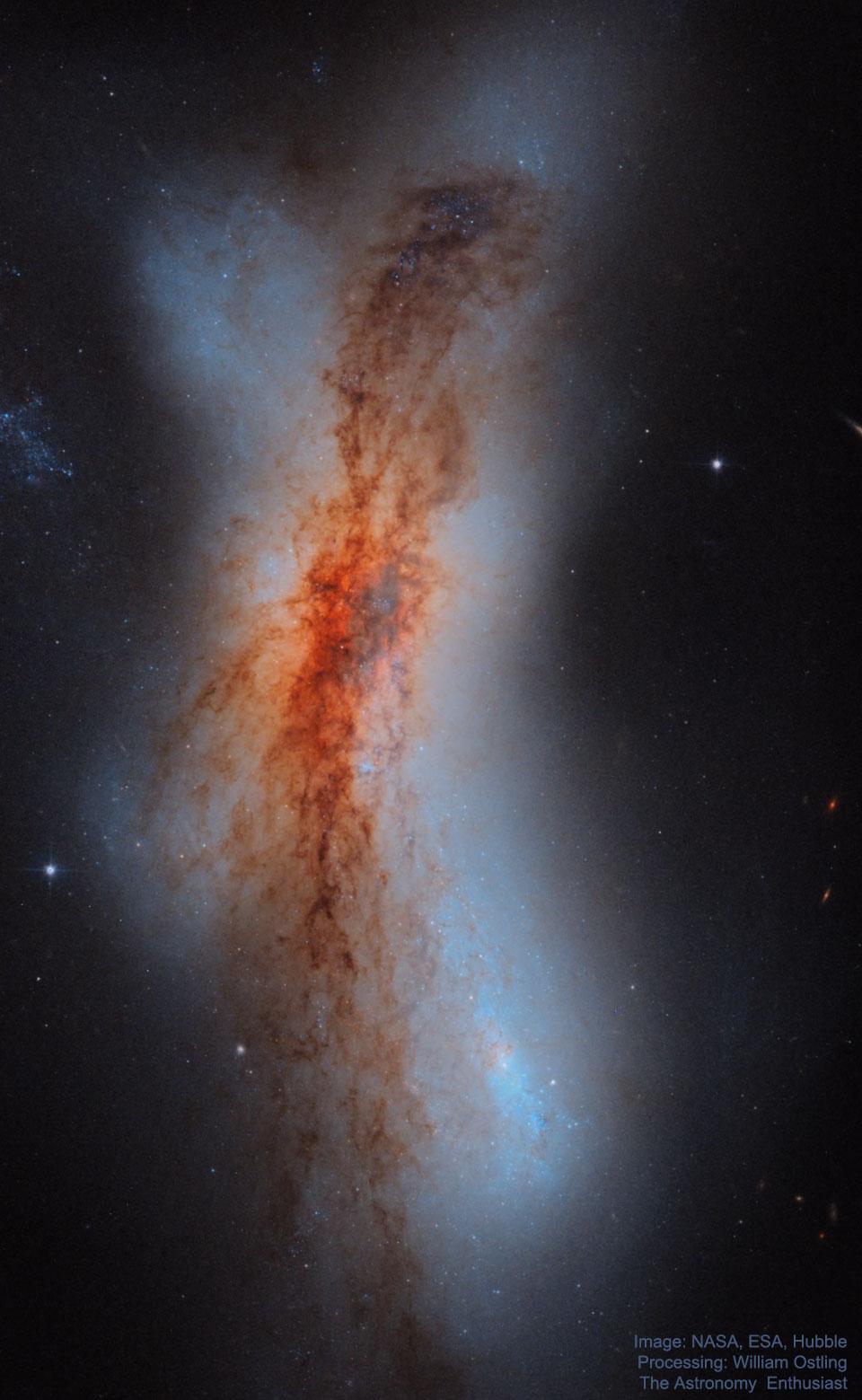 234. NGC 520:哈伯翕 ê 相碰星系 ft. 阿錕 (20210907)