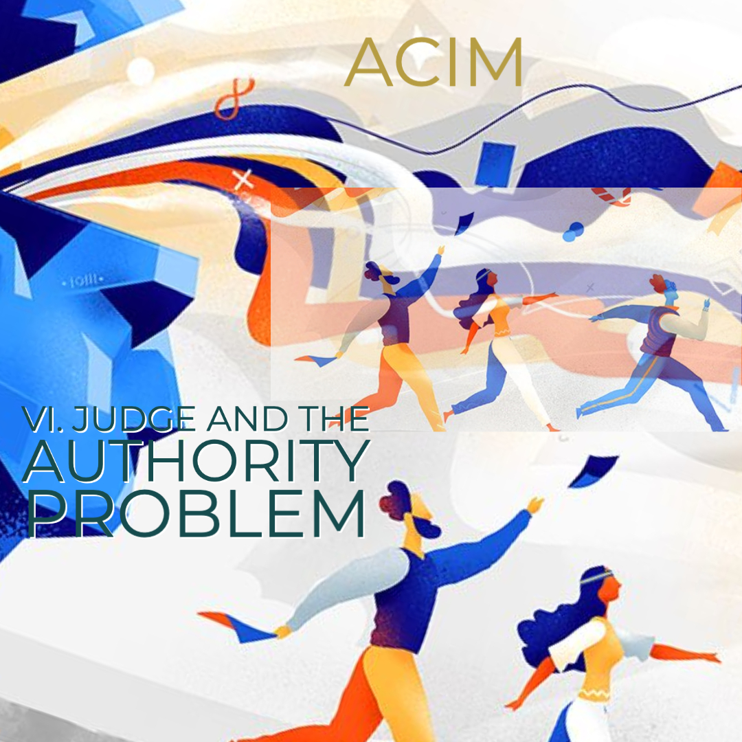 TEST#34 VI. Judgment and the Authority Problem