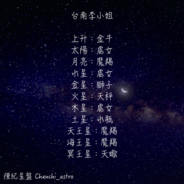 第一季第八集-台南李小姐之魔羯座怎麼辣麼難懂