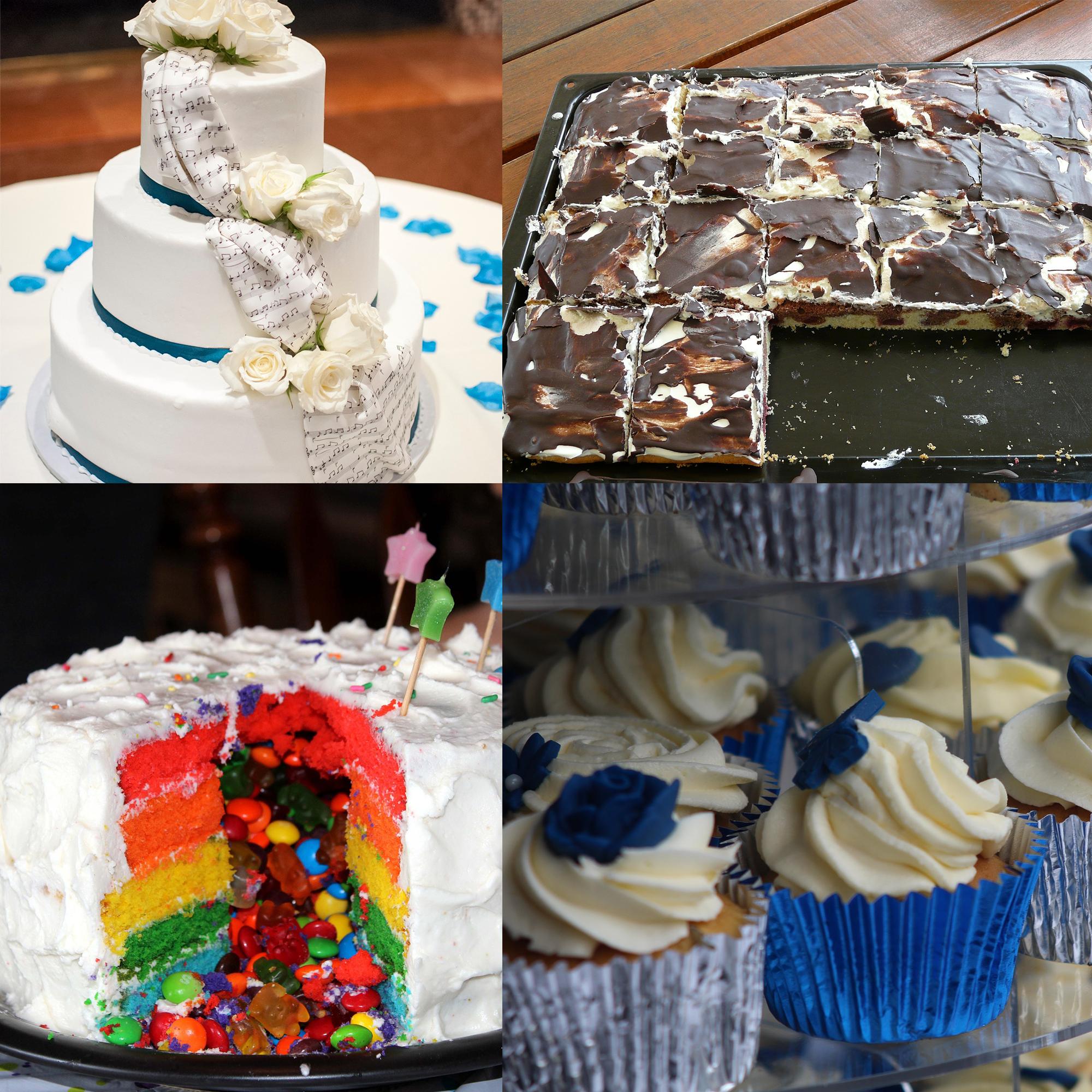 英語筆記#10:超愛吃蛋糕的喬治亞來跟大家介紹一些特殊蛋糕的講法囉!