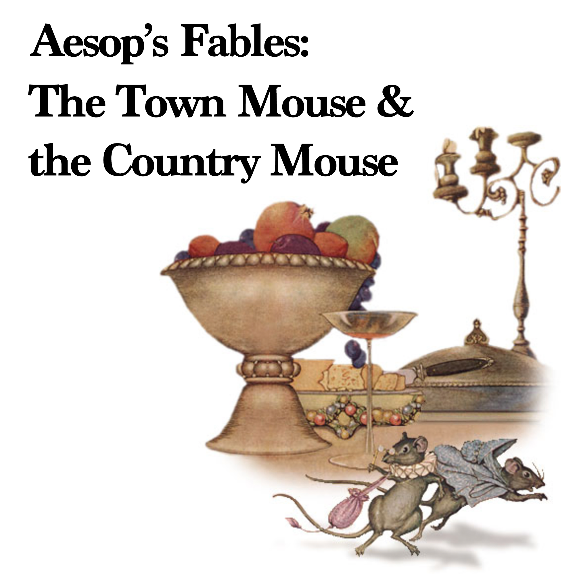 故事朗讀#14:伊索寓言 - The Town Mouse and the Country Mouse