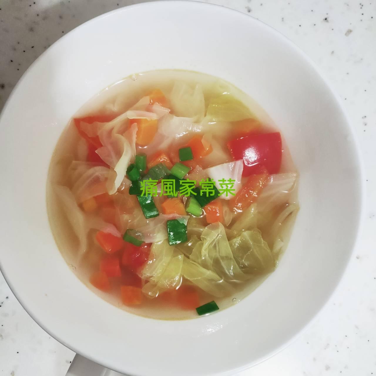 01蕃茄鮮蔬湯︱低卡低普林,天然腸胃藥︱適合痛風朋友平日保養