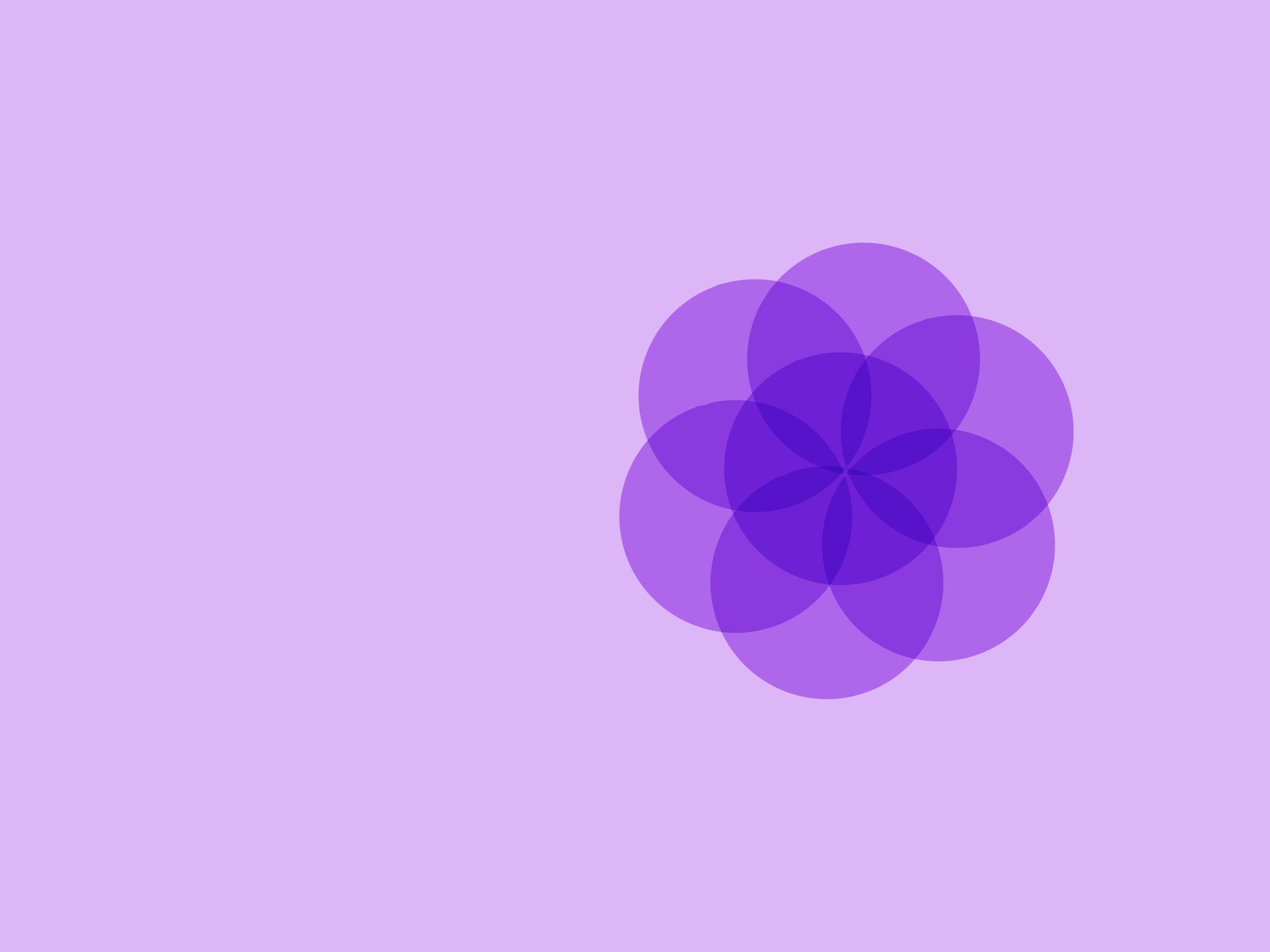 使用紫色火焰靜心