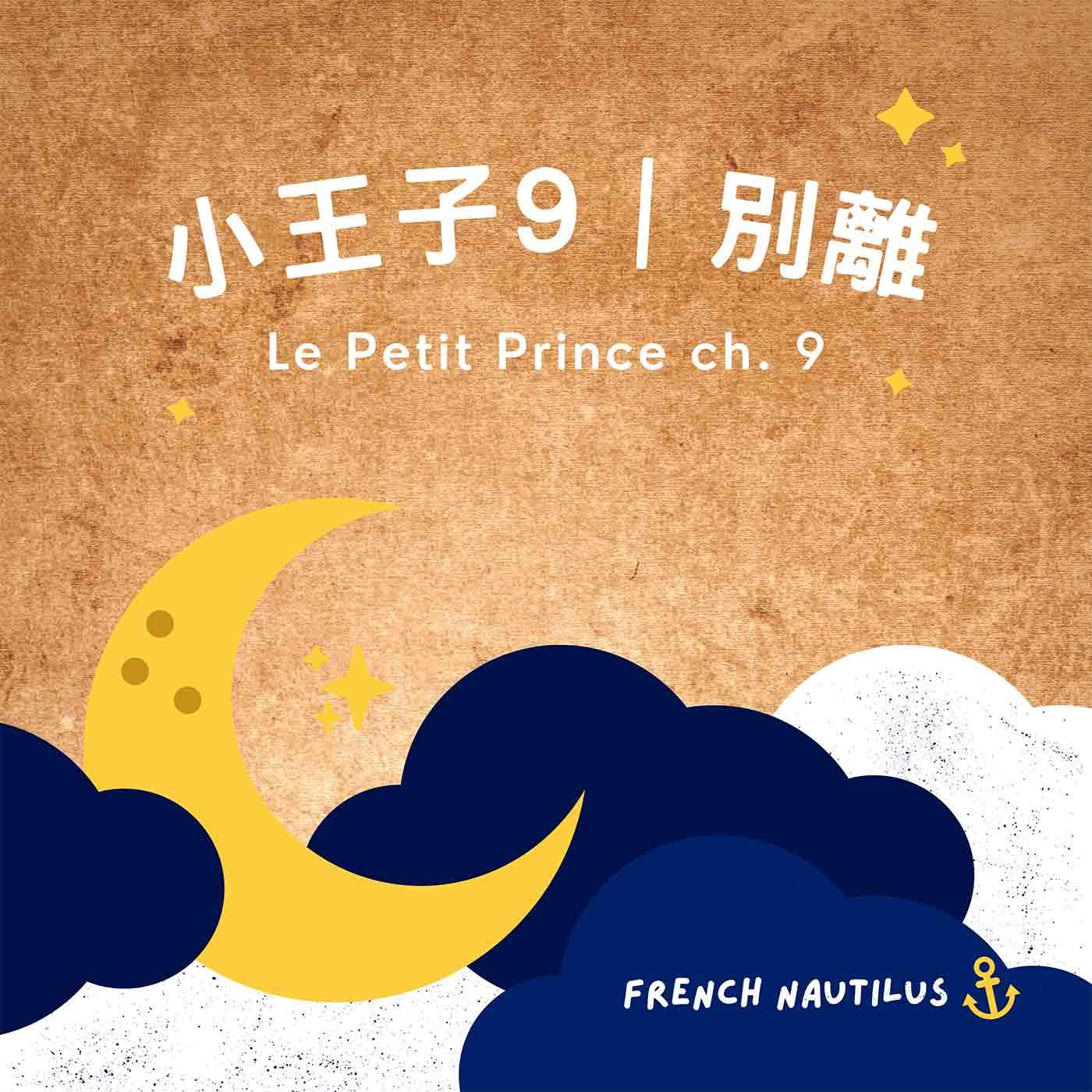 法文有聲書《小王子》Le Petit Prince Ch. 9 別離