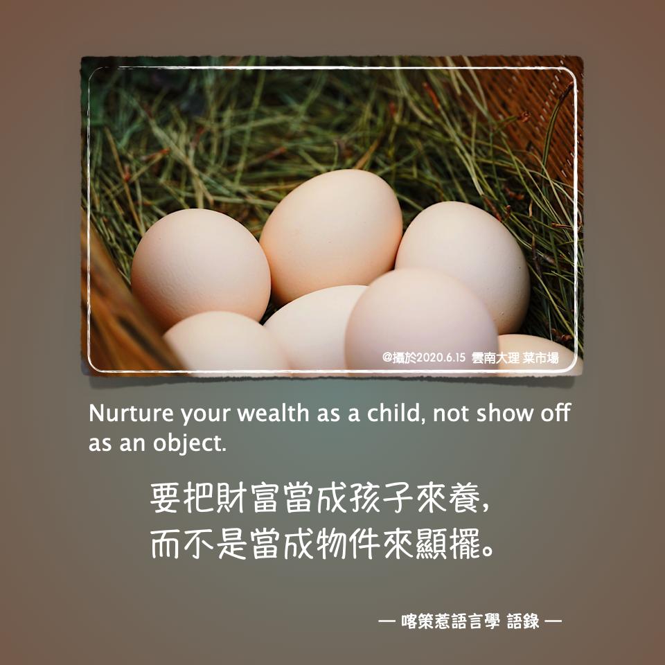 第5集 有財富,不難,要像孩子養大!