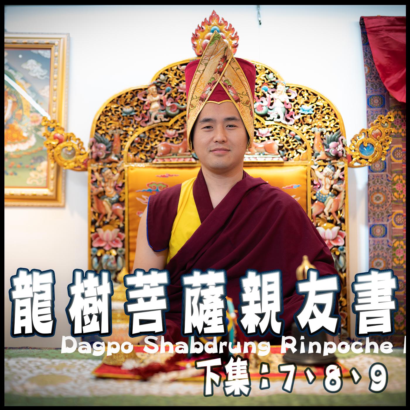 龍樹菩薩親友書(下) Dagpo Shabdrung Rinpoche  達波霞仲仁波切傳講