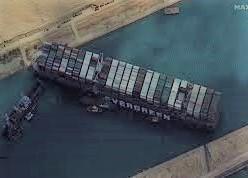 第十集  長賜輪堵住了蘇伊士運河,亞-歐間貿易運輸怎麼辦? 有無其他解方?