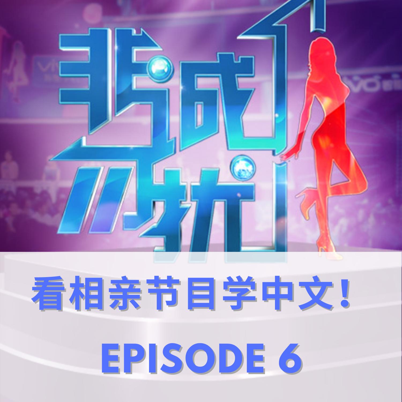 EPISODE 6   看相亲节目学中文