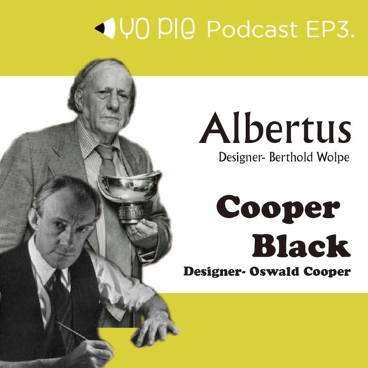 ep.3 【Yoyo Buy 書】 廣告界寵兒Cooper Black與德式經典Albertus
