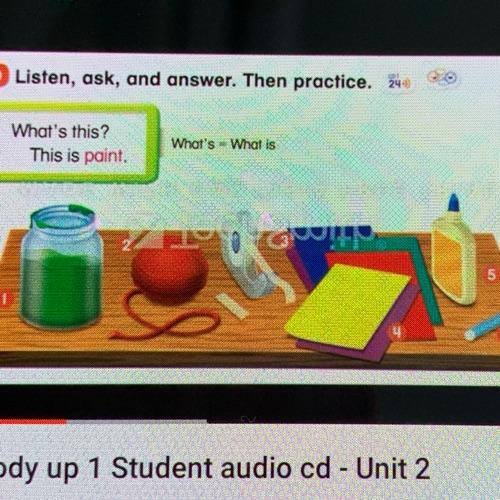 Everybody Up 1|二年級英語|Unit 2|Lesson 1|句型|