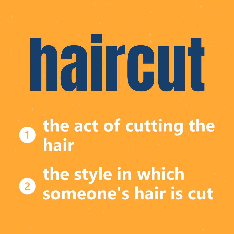 60秒學單字 One Minute One Word - Haircut 我要剪頭髮! 💇🏻♀️