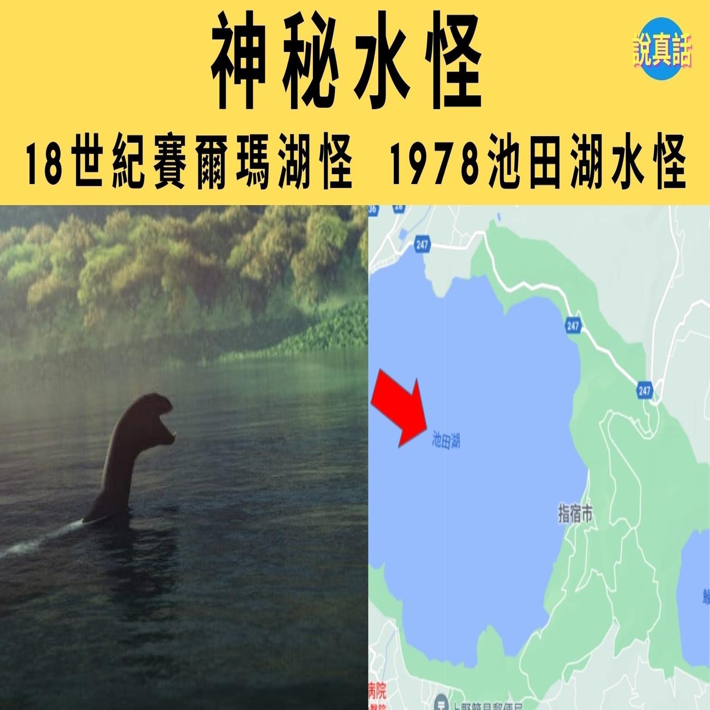 神秘水怪:18世紀賽爾瑪湖怪 1978池田湖水怪